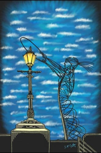 'Nuala & the Lamp' by Stephen McCurdy Art