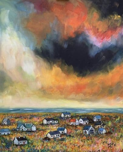 'Storm Clouds' by Frances McKenna