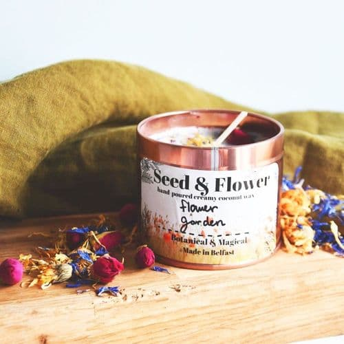 Flower Garden Candle by Seed & Flower