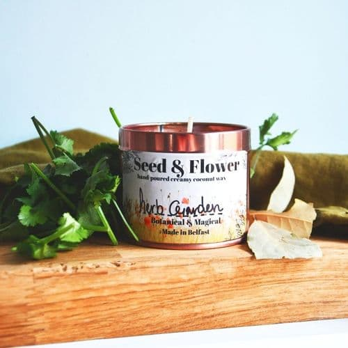 Herb Garden Candle by Seed & Flower