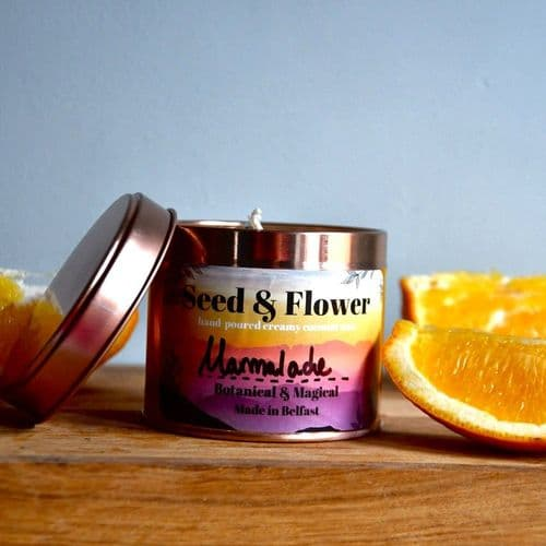 New - Marmalade Candle by Seed & Flower