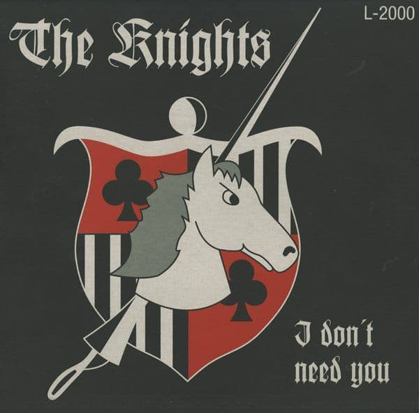 Knights - I Don't Need You , LP