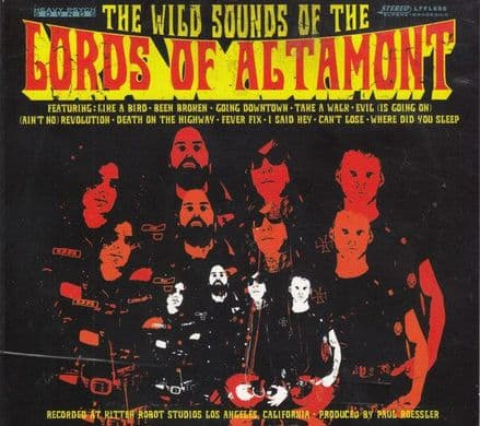Lords Of Altamont ‎– The Wild Sounds Of The Lords Of Altamont, CD
