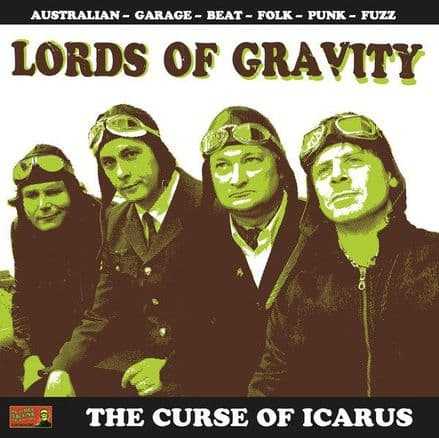Lords Of Gravity ‎– The Curse Of Icarus, LP