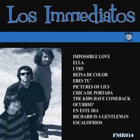 Los Immediatos ‎– Los Immediatos, LP