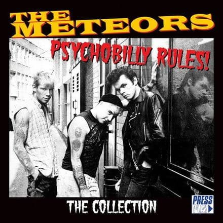 Meteors - Psychobilly Rules! The Collection, 2XLP