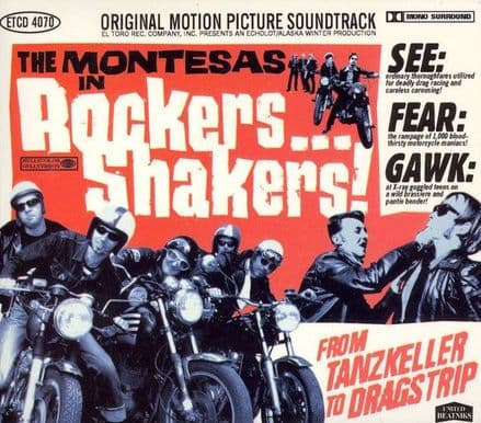 Montesas ‎– Rockers...Shakers!, CD