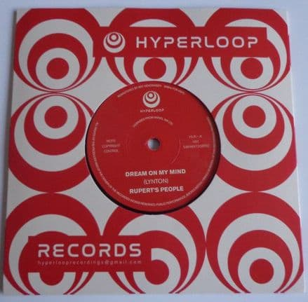 Rupert's People - Dream On My Mind, 7""