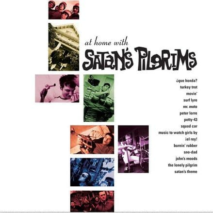 Satan's Pilgrims - At Home With..., LP