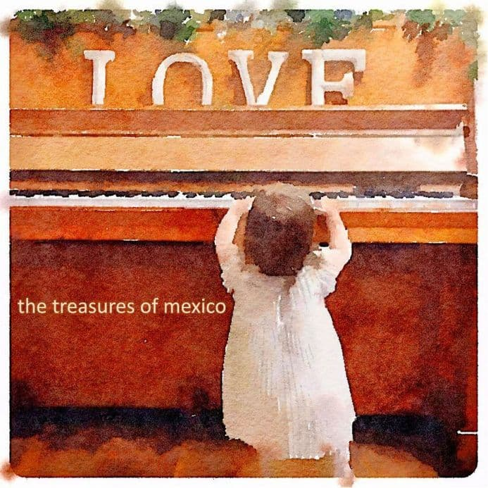 The Treasures Of Mexico – Heart Shaped Clock / Stick With You,  7″