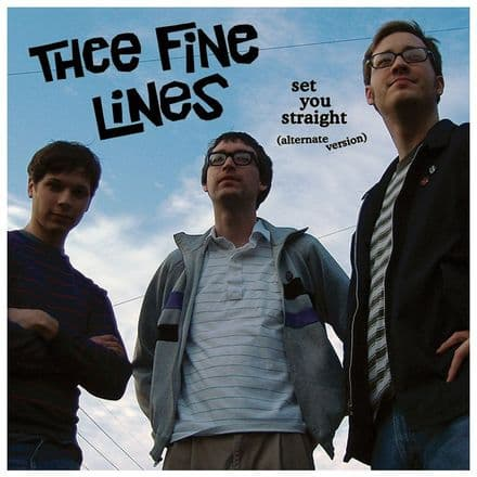Thee Fine Lines – Set You Straight, LP