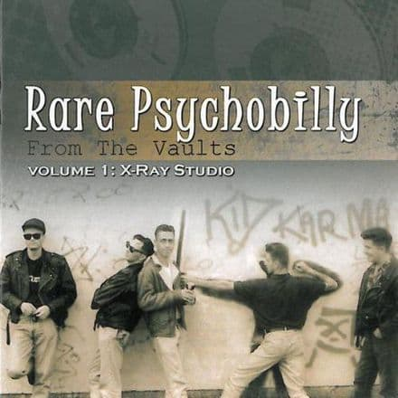 VA - Rare Psychobilly From The Vaults Volume 1: X-Ray Studio, CD
