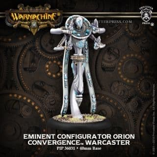 Eminent Configurator Orion  Convergence of Cyriss Warcaster (metal)