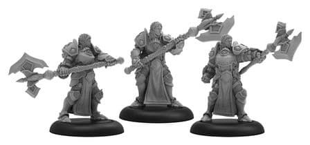 Initiates of the Order of the Wall  Protectorate of Menoth Unit (metal/resin)
