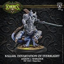 Kallus, Devastation of EverblightLegion Warlock (resin/metal)