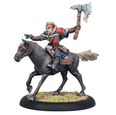 Khador Greylord Cavalry Outriders (5)   Plastic