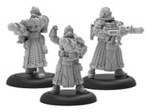 Containment Operatives  WARMACHINE Crucible Guard Combat Alchemist Unit (metal)