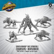 Coursers, Elite Courser, Draken Berserker Monsterpocalypse Draken Armada Unit (metal/resin)