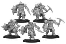 Crucible Guard Storm Troopers – Golden Crucible Unit (metal/resin)