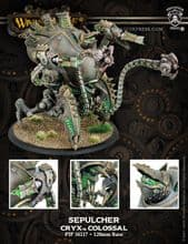 Cryx Colossal Kracken or Sepulcher  PLASTIC