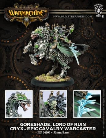 Goreshade, Lord of Ruin - Epic Cavalry Warcaster