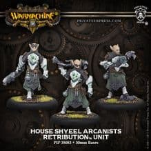 House Shyeel Arcanists Retribution of Scyrah Unit (metal)