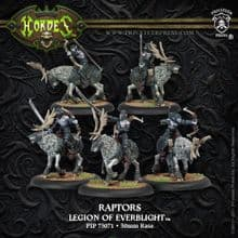 Legion Everblight Cavalry Nyss Raptors (5)