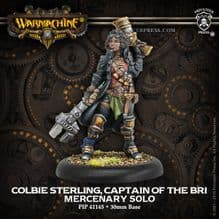 Mercenary Colbie Sterling, Captain of the B.R.I. METAL