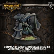Mercenary Gorman di Wulfe Rogue Alchemist