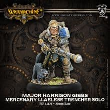 Mercenary Major Harrison Gibbs METAL