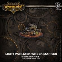 Mercks Light Warjack Wreck Marker