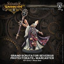 Protectorate Warcaster Grand Scrutator Serverius RESCULPT inc resin