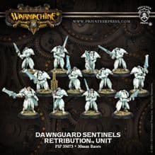 Retribution D/G Sentinels & 2 Unit Attachments (12)  PLASTIC
