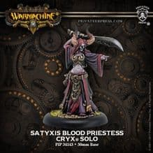Satyxis Blood Priestess – Cryx Warcaster Attachment (resin/metal)