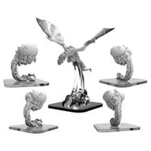 Snatchers & Hellion  Monsterpocalypse Lords of Cthul Units (metal)