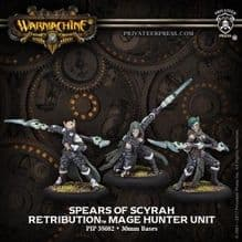 Spears of Scyrah Retribution of Scyrah Unit (metal)