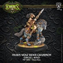 Tharn Wolf Rider ChampionCircle Orboros Solo RESIN
