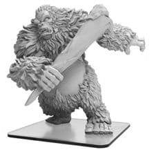 White Dajan  Monsterpocalypse Empire of the Apes Monster (resin)