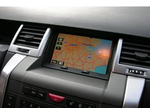 DVD Navigation Map Land Rover 2018 all Europe Denso