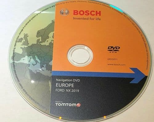 FORD NX Map update disc TOMTOM Europe 2019-2020