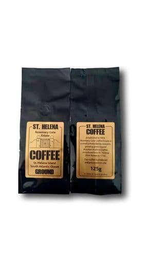 Two 125g Bags St Helena ground Coffee Rosemary Gate RRP £100 our price £48.00