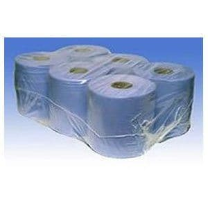 Blue 2 ply Centre Feed Rolls-125M