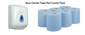 Blue Centre Feed - Combi Pack
