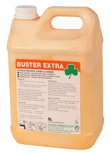 BUSTER EXTRA Citrus Beaded Hand Cleaner - 5L
