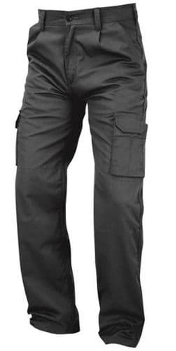 Back To Basics Condor Work Cargo Trousers 2500 Graphite