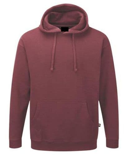 Back To Basics Pullover Hoodie Burgundy £16.99