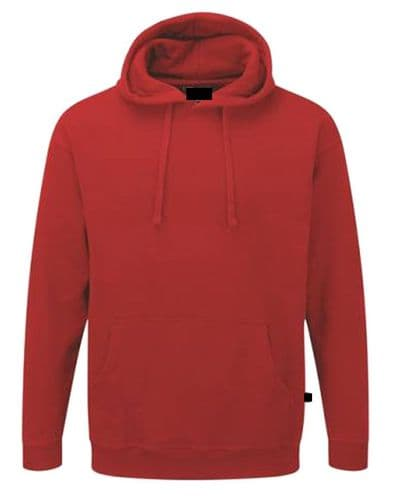 Back To Basics Pullover Hoodie Red £16.99