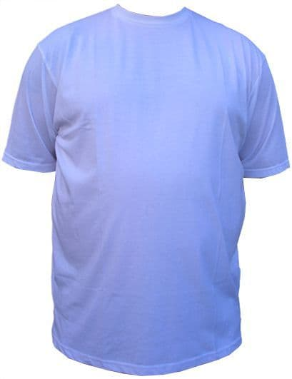 Clearance 100% Cotton Tees White £3.99