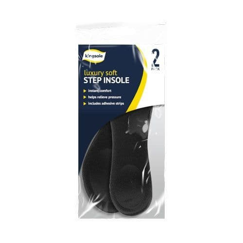 Kingsole Step Insole 15280 2 Pair Pack One Size