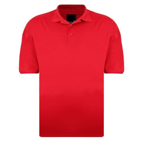 Silky 1190-30 Plain Wicking Polo Red £11.99
